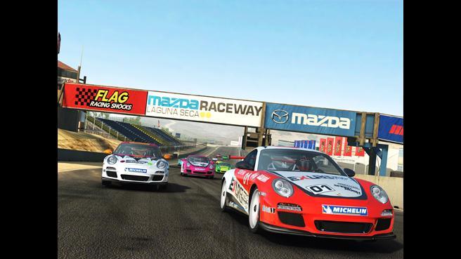 Real Racing iPhone iPad game app