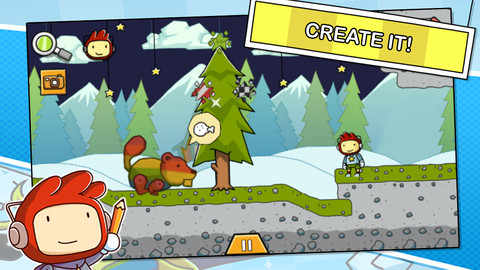 Scribblenauts Remix iPhone & iPad game app