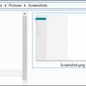 Win Key + Print Screen: Windows 8 Screenshot Shortcut