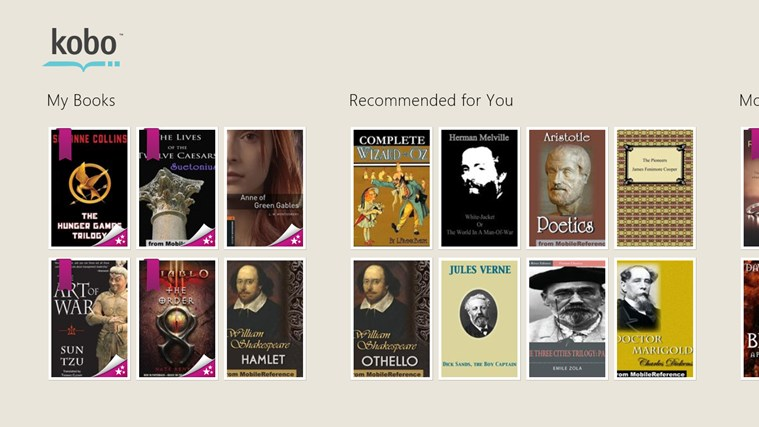 how to get free books on kobo app