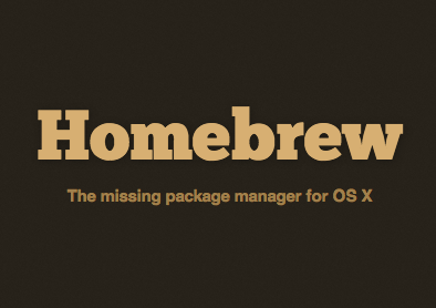 install homebrew on mac using terminal