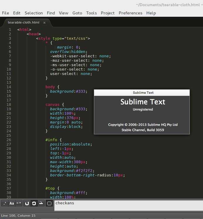 Install Sublime Text 3 Editor in Fedora Linux & Red Hat Linux