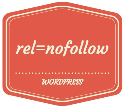 rel nofollow in WordPress